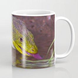 The ocellated lizard Coffee Mug