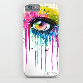 """""""Rainbow in your eyes"""" iPhone Case"""