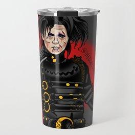 Dead ward scissor hands Travel Mug