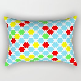 Fun summer pattern . Rectangular Pillow