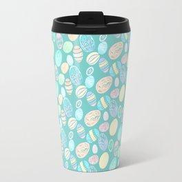 Painted eggs #3 Travel Mug