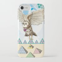 journey iPhone & iPod Cases featuring Journey by Jo Cheung Illustration
