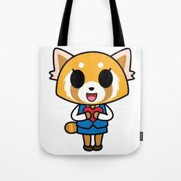Aggretsuko Loves You! Tote Bag