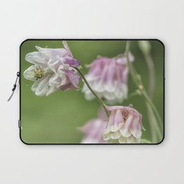 Columbine Pink and White Laptop Sleeve