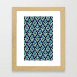 plumes Framed Art Print