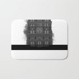 HexArchi - France, Paris, Cathedral of Notre Dame de Paris Bath Mat