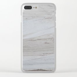 Pastel Marble #1 #textur #white #gray #decor #art #society6 Clear iPhone Case