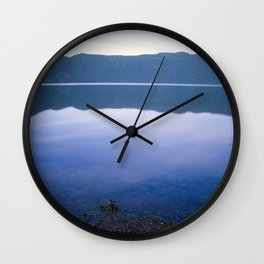 Nightfall in Sete Cidades Wall Clock