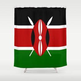 Flag: Kenya Shower Curtain