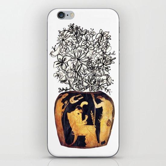 flowers for caligula iPhone & iPod Skin