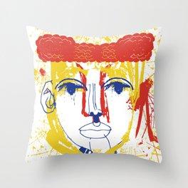 Torero Throw Pillow