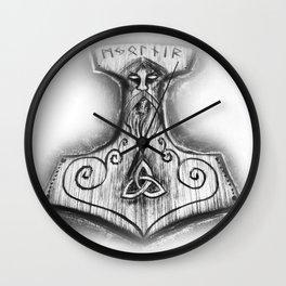 Mjölnir - Thor's Hammer Wall Clock