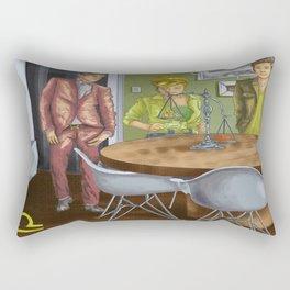 Libra Sign Rectangular Pillow