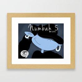 KND Numbah 5 as Mary J Framed Art Print