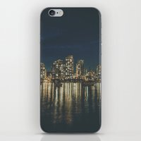vancouver iPhone & iPod Skins featuring Vancouver II by Luke Gram