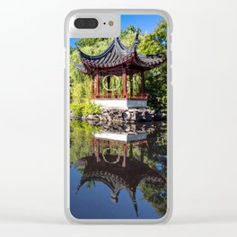 CLASSICAL CHINESE GARDEN Clear iPhone Case