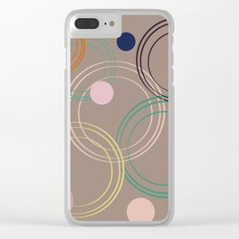 Pattern 2018 007 Clear iPhone Case