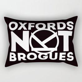 Oxfords Not Brogues Rectangular Pillow
