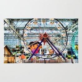 Nickelodeon Universe indoor amusement park 2 Rug