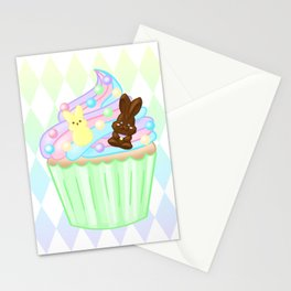 Easter Cupcake Stationery Cards