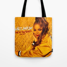 JANET JACKSON STATE OF THE WORLD TOUR DATES 2019 FIZI Tote Bag