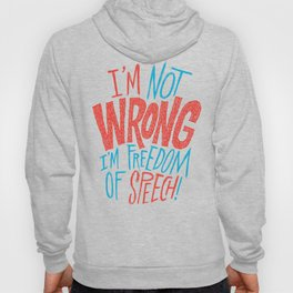 Freedom of Speech Hoody
