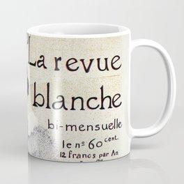 La Revue Blanche Toulouse Lautrec Coffee Mug