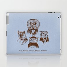 A History of Western Philosophy. With Owls. Laptop & iPad Skin
