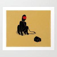 omo/lupo Art Print