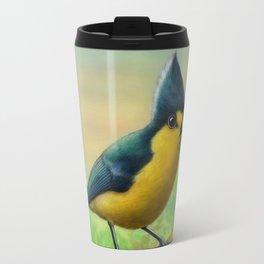 Yellow Tit Travel Mug