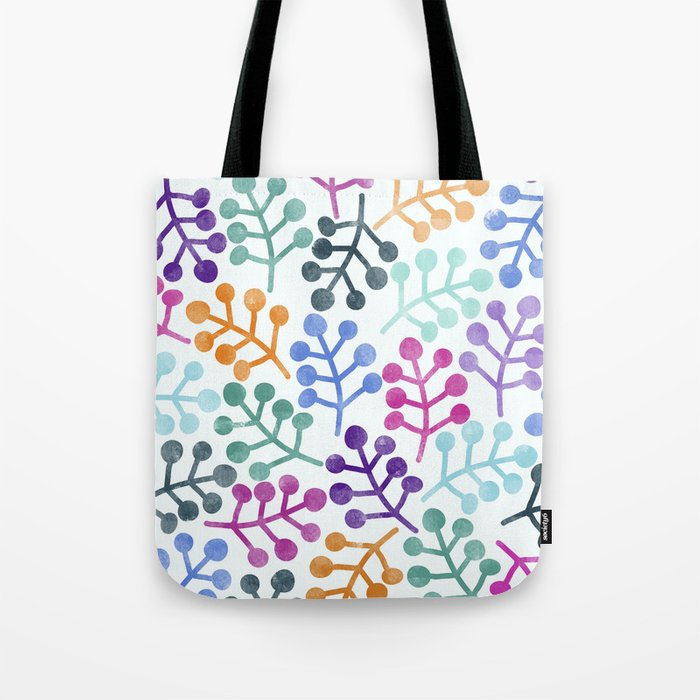 Flower Pattern IV Tote Bag