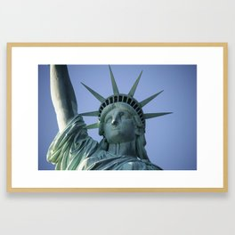 The Statue of Liberty in New York City 5 Framed Art Print