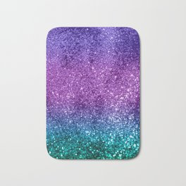 Unicorn Girls Glitter #10 #shiny #decor #art #society6 Bath Mat