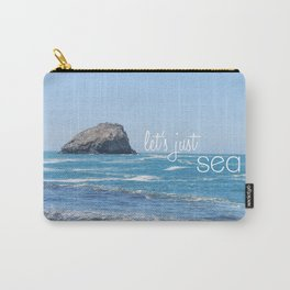 Let's Just Sea Carry-All Pouch