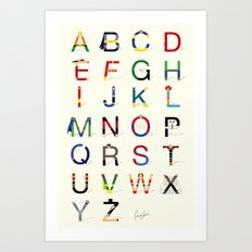 ABC SH (Option 2) Art Print