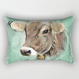 Pretty Cow Rectangular Pillow
