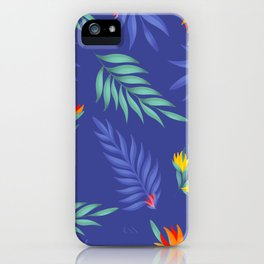 Tropical Print iPhone Case
