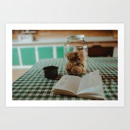 Hand in the Cookie Jar Art Print