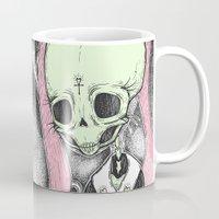 tarot Mugs featuring Death (Tarot Cards Series 2014) by lOll3