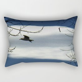 Gull Path Cloud Rectangular Pillow