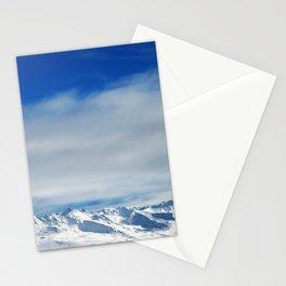swiss alps Stationery Cards