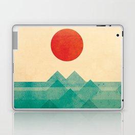 The ocean, the sea, the wave Laptop & iPad Skin