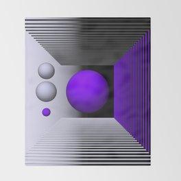 3D-geometry -3- Throw Blanket