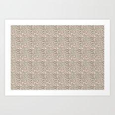 missy leopard Art Print