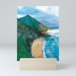 Wild Beach Mini Art Print