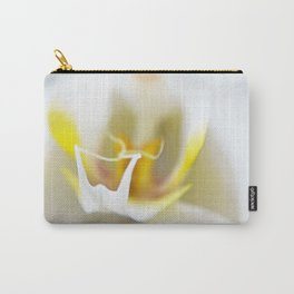 Soft White Orchid Art by Sharon Cummings Carry-All Pouch