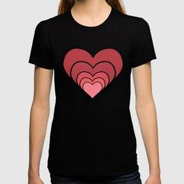 Growing Heart of Love - Love Story T-shirt