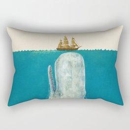 The Whale - colour option Rectangular Pillow