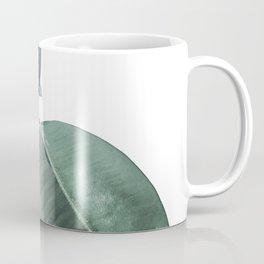 Ficus Elastica #18 #White #foliage #decor #art #society6 Coffee Mug