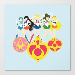 Sailor Soldiers Canvas Print